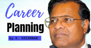 career planning K krishnan